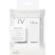 M-VDRS1T.E.WH [カセットハードディスク アイヴィ 1TB ホワイト]