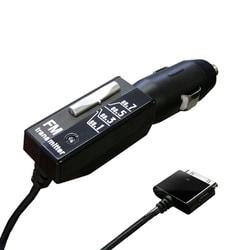 KD-153 [FMトランスミッター4バンド iPhone/iPod充電機能付]