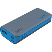 CY1420PBCUS [ChargeUp Sport Powerbank. 4400mAh 1 Amp. USB出力:1ポート Grey with Blue Trim]