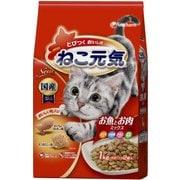 ねこ元気 [猫用 キャットフード お魚とお肉ミックス 1kg]