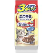 総合栄養食パウチ [成猫用 キャットフード 1歳から まぐろ入りかつお 60×3袋]
