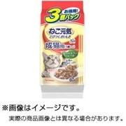 総合栄養食パウチ [成猫用 キャットフード 1歳から ささみ まぐろ入りかつお 60g×3袋]