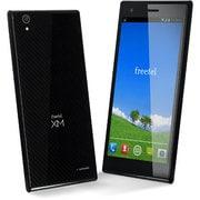 FT142D BK [XM Android 4.4搭載 5.0インチ液晶 SIMフリースマートフォン LTE対応 ブラック]