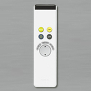 RC701W [調光リモコン 簡単操作タイプリモコン 対応器具:LC 調光シーリングライト]
