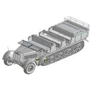 CH6794 WW.II ドイツ Sd.Kfz.7 8トンハーフトラック 1943年生産型 [1/35スケール]