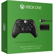 Xbox One ワイヤレス コントローラー プレイ&チャージキット付 W2V-00009 [Xbox One用]