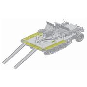 CH6711 WW.II ドイツSd.Kfz.10/4 1tハーフトラック 2cm対空機関砲Flak30搭載型弾薬トレーラー付(スマートキット) [1/35スケール 組立キット]