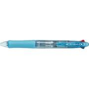 BKAB-45EF-CSL [アクロボール4 05 クリアソフトブルー ボールペン 0.5mm 黒・赤・青・緑]