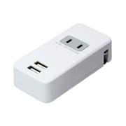 IPA-24AC/WH [コンセント付USB充電器 2.4A 白]