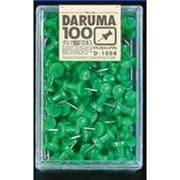D-1008GR [ダルマ画鋲 100本 緑]