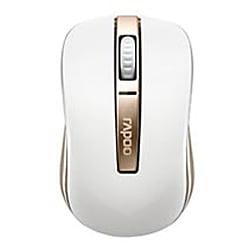 6610GL [rapoo ハイブリッドマウス ホワイト&ゴールド]