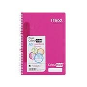MNB1717699P ピンク MeadカラーハイドノートブックA5 [Meadノート]
