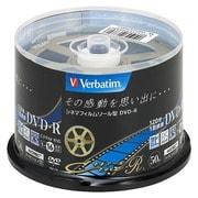 VHR12JC50SV1 [DVD-R 1回録画用 120分 1-16倍速 50枚 キネアールデザイン]
