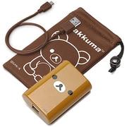 YY00507 [スマートフォン用 リチウム充電器 5600mAh USB出力:2ポート 最大合計:2A リラックマ]