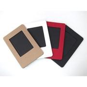 スマートフォトフレーム スリム [チェキサイズ 4色セット(レッド/ブラック/ホワイト/ブラウン)]