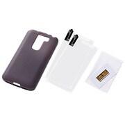 RT-G2MC6 B [LG G2 mini用ケース ソフトジャケット ブラック 半透明]