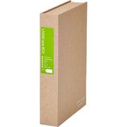 2555 [スキットマン リビングサイズボックス B6(34mm厚) 黄緑]
