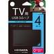 US3-HB4AC [USB 3.0/2.0対応 USBハブ(4ポート)テレビ用]
