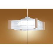 HCDA0609 [LEDペンダントライト 白木調樹脂飾り 和風 6畳]