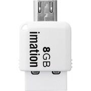 STS-UFDMC8GB-WH [コンパクトサイズ 2-in-1 USBメモリ]