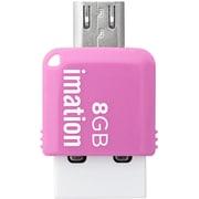 STS-UFDMC8GB-PK [コンパクトサイズ 2-in-1 USBメモリ]