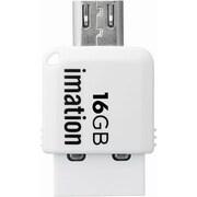 STS-UFDMC16GB-WH [コンパクトサイズ 2-in-1 USBメモリ]