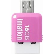 STS-UFDMC16GB-PK [コンパクトサイズ 2-in-1 USBメモリ]