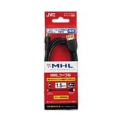 VX-MH410-B [MHL3.0対応 MHLケーブル 1.0m ブラック]