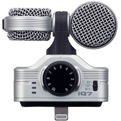 iQ7 MS Stereo Microphone [iPhone・iPod touch・iPad用ステレオコンデンサマイク]