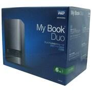 WDBLWE0060JCH-JESN [デュアルドライブ外付けハードディスク My Book Duo 6TB RAID0/1対応]