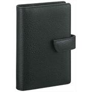WWP5007 B [キーワード ポケットサイズ システム手帳 スタンダードサイズ ブラック]