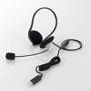 HS-NB05USV [USBヘッドセット ネックバンドタイプ 1.8m シルバー]