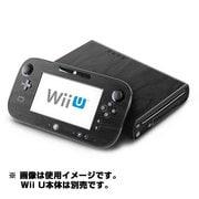 Wii U Skin Black Woodgrain [Wii U ドレスアップシール]