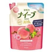 ボディソープ 桃の葉エキス配合 詰替用 400ml [フルーティフローラルの香り]