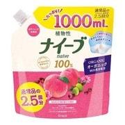 ボディソープ 桃の葉エキス配合 詰替用 大容量1L [フルーティフローラルの香り]