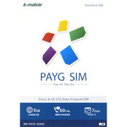 BM-PAYG-3G60C [b-mobile(ビーモバイル) PAYG SIM  (StandardSIM) Chinese]