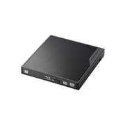 LBD-PMJ6U3VBK [USB3.0 ポータブルBlu-rayディスクドライブ 編集書込みソフト付き ブラック]