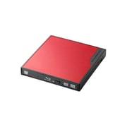 LBD-PMJ6U3VRD [USB3.0 ポータブルBlu-rayディスクドライブ 編集書込みソフト付き レッド]