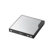 LBD-PMJ6U3VSV [USB3.0 ポータブルBlu-rayディスクドライブ 編集書込みソフト付き シルバー]