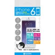 i6GLHT02 HighTransparency9Hglassscreenprotector(0.2mm) [iPhone 6用 4.7インチ フィルム]