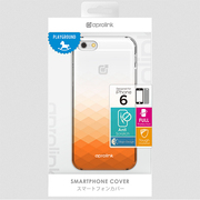 i6PP10-OR Gradientclearcase [iPhone 6用 4.7インチ ケース オレンジ]