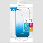 i6PP10-BL Gradientclearcase [iPhone 6用 4.7インチ ケース ブルー]
