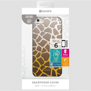 i6SP30-GR Wildanimalprintedcase [iPhone 6用 4.7インチ ケース Giraffe]