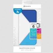 i6PF20-BL Origamifolio [iPhone 6用 4.7インチ ケース ブルー]