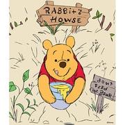 iPad Air Skin Rabbits House [ドレスアップシール]