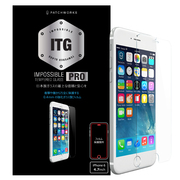 P-4300J [ITG PRO iPhone 6/6s用 Impossible Tempered Glass 0.4mm 強化ガラス製フィルム]