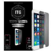 P-4306J [iPhone 6/6s用 ITG PRO Plus Privacy Impossible Tempered Glass 覗き見防止ガラスフィルム ラウンドカット]