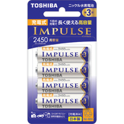 TNH-3AH 4P [ニッケル水素電池 IMPULSE(インパルス) 高容量タイプ 単3形 4本]