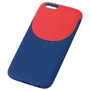 TD-2011-006 [iPhone 6/6s 4.7インチ 2Tone Style ネイビー×レッド]
