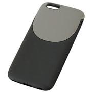 TD-2011-009 [iPhone 6/6s 4.7インチ用 ソフトケース 2トーンスタイル ブラック×グレー]